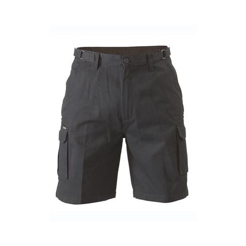 Original 8 Pocket Mens Cargo Short Black 77 REG BSHC1007_BBLK