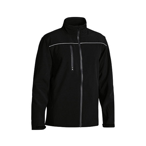 Mens Soft Shell Jacket Black XS BJ6060_BBLK