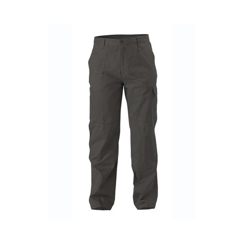 Cool Lightweight Mens Utility Pant Black 74 LNG BP6999_BBLK