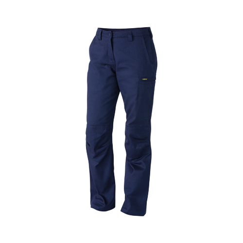 Industrial Engineered Womens Drill Pant Navy 6 BPL6021_BPCT