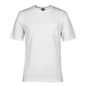 C OF C  POCKET TEE  WHITE - 5XL
