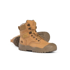 Mongrel Under Lace Up High Left Boot Wheat 550050