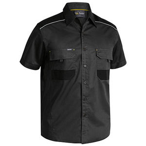 BISLEY  Flex & Move™ Mechanical Stretch Shirt - Short Sleeve BS1133
