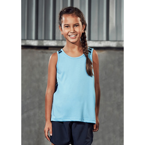 BIZ COLLECTION Kids Flash Singlet MV3111B