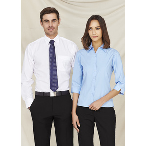 BIZ COLLECTION Ladies Base 3/4 Sleeve Shirt S10521